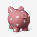 Ceramic Mauve Baby Piggy Bank