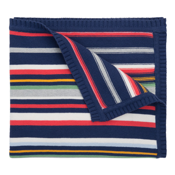 "Blanket 30"" x 40""- Striped"