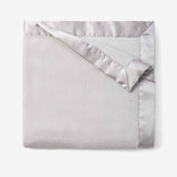 Gray Coral Fleece Baby Stroller Blanket