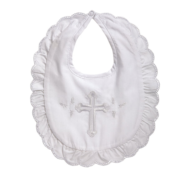 Christening Bib Girl