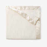 Cream Hanging Coral Fleece Baby Blanket