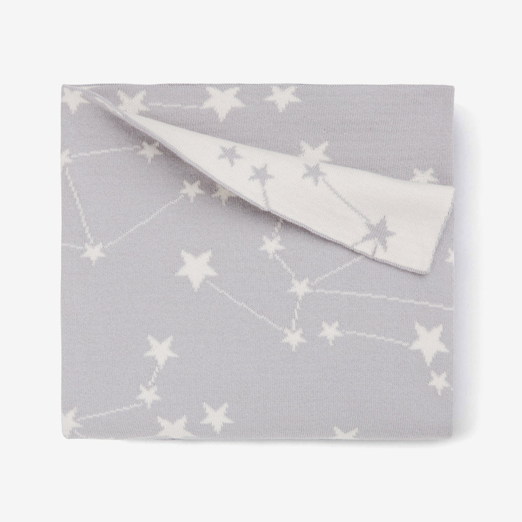 Organic Blanket Constellation Gray