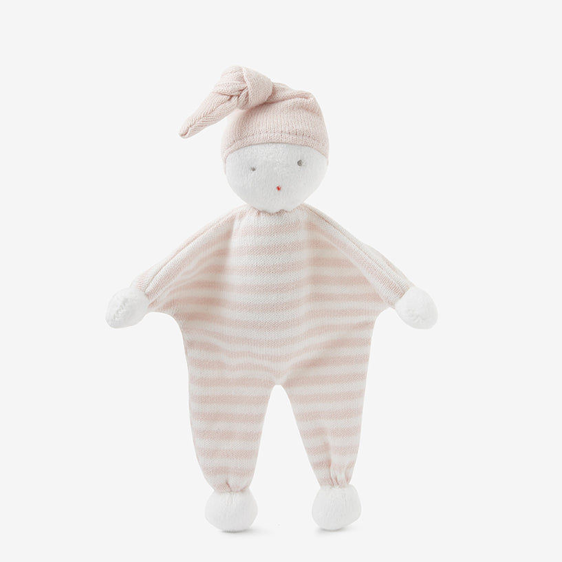 Bebe Blush Stripe Knit Baby Doll