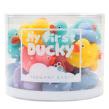 Tub of Pastel Duckies