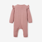 Unicorn Cotton Knit Baby Jumpsuit