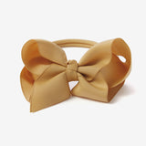 Mustard Baby Girl Bow Headband