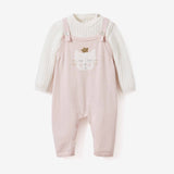 Princess Kitty Baby Bodysuit & Overall Set