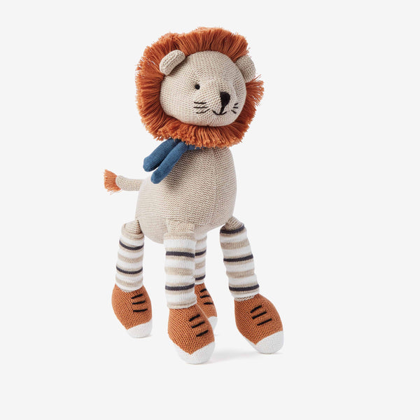 "15"" Leo Lion Baby Knit Doll"