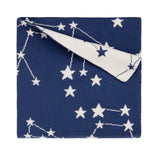 Organic Blanket Constellation Navy