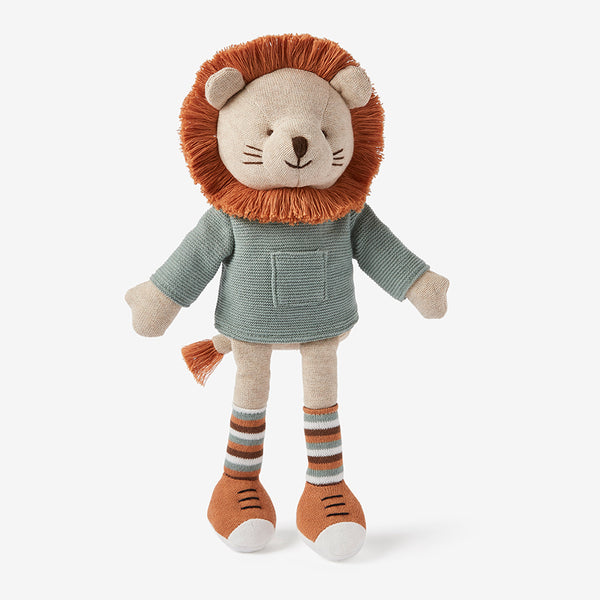 "15"" Leo Lion Baby Knit Toy"