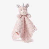 Pink Swirl Unicorn Baby Security Blanket