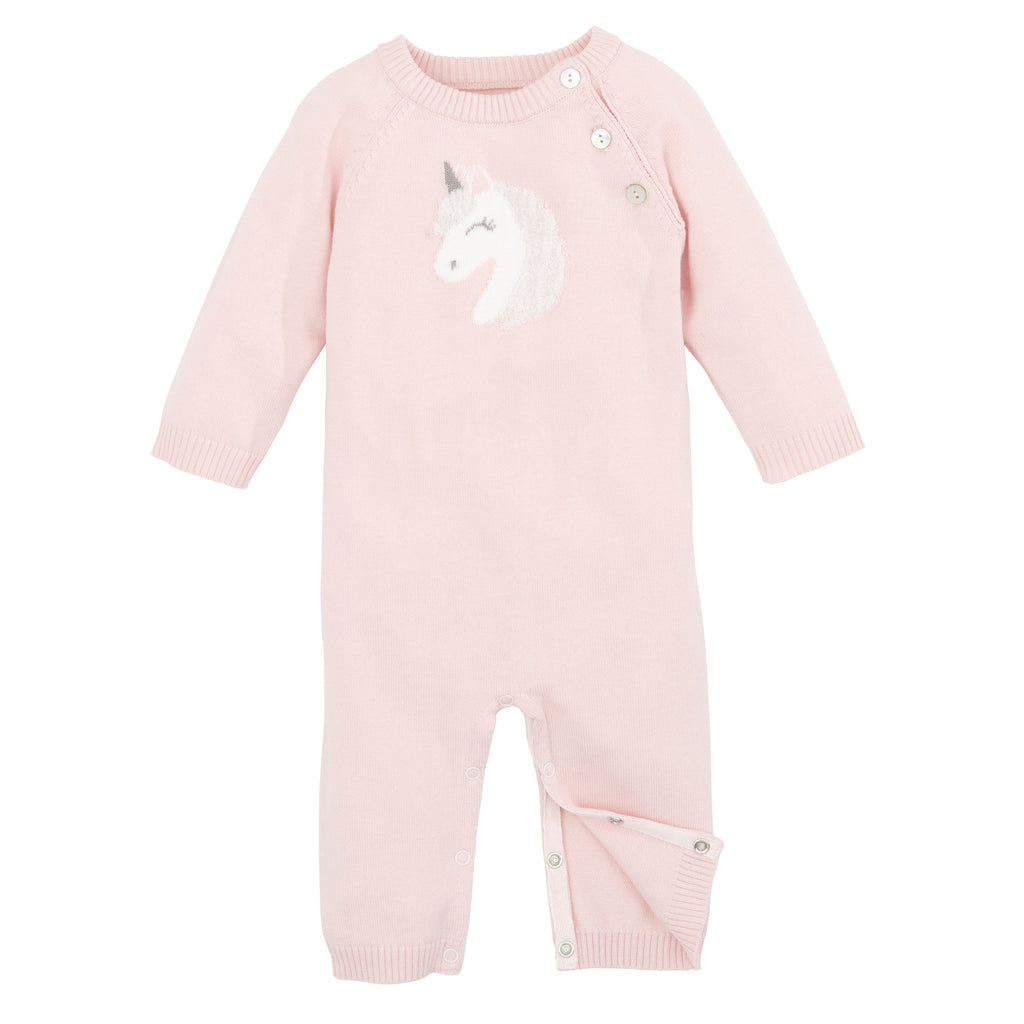 Jumpsuit Unicorn Pink