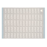 Love Blanket Gray/Blue 30x40