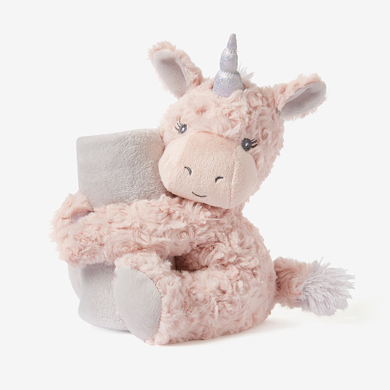 Unicorn Swirl Naptime Huggie Plush Toy