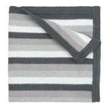 Blanket Fancy Gray Stripe