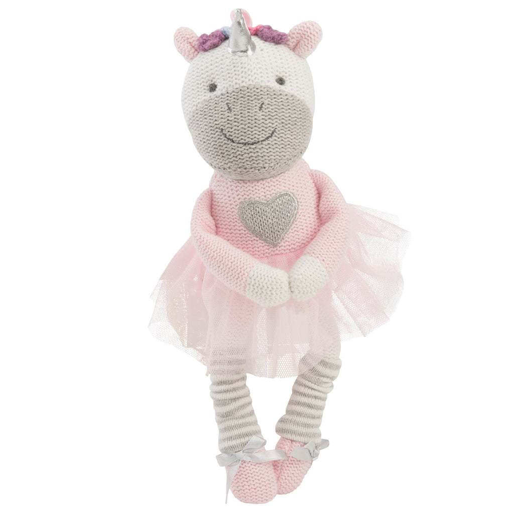 Unicorn Knittie-10""