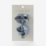 Gray Baby Girl Bow Headband
