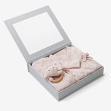 Blush Pink Newborn Coming Home Outfit Boxed Set
