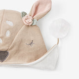 Fawn Aviator Knit Baby Hat