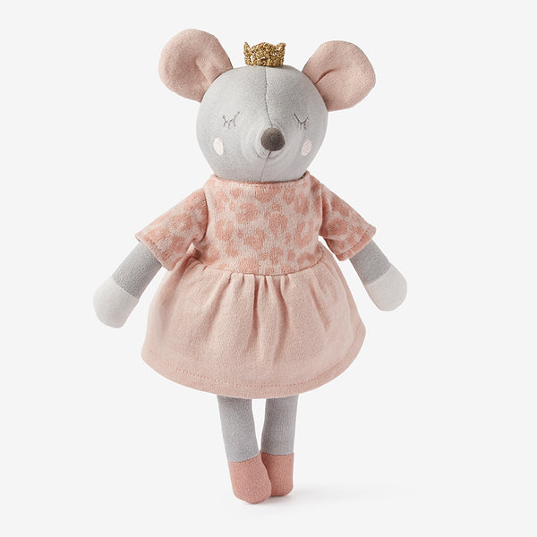 "15"" Princess Mouse Baby Knit Toy"