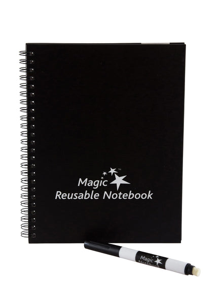 "Magic Whiteboard SMALL Magic Notebook (6"" x 8.25"") Portable Dry-Erase Surface  (MW1450)"