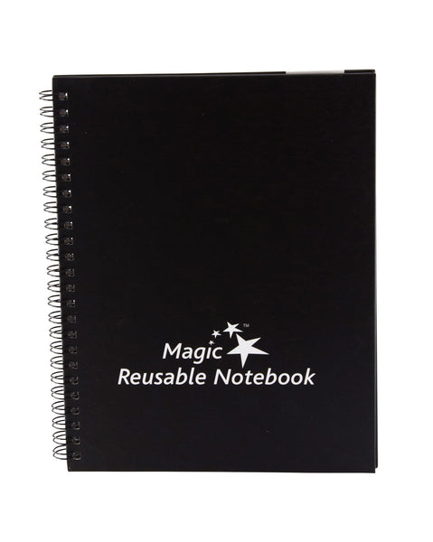 "Magic Whiteboard LARGE Magic Notebook (8.5"" x 11.75"") Portable Dry-Erase Surface (MW1440)"