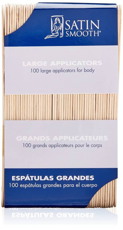 SATIN SMOOTH Large Applicators - 100ct  SSWA03