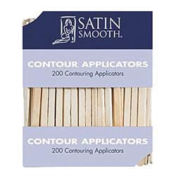 Satin Smooth Contour Applicators - 200pk