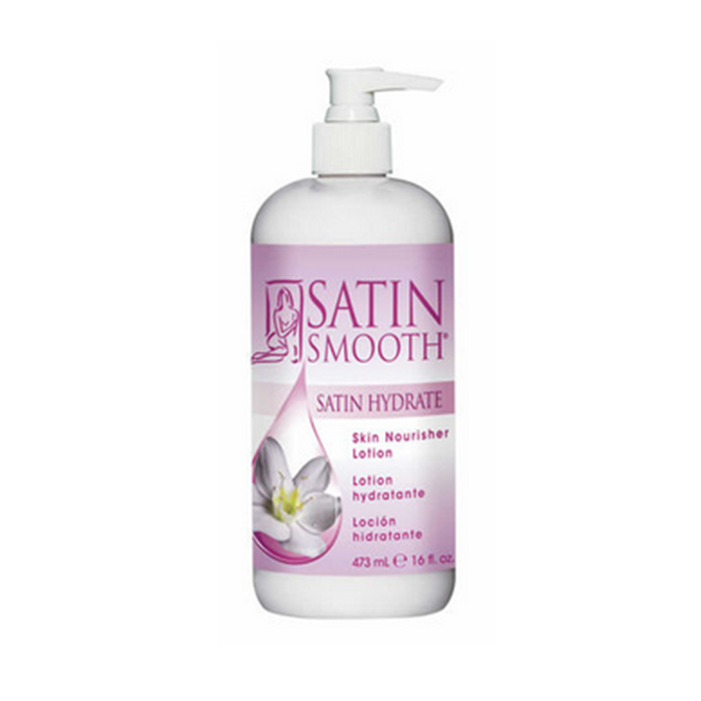 SATIN SMOOTH Satin Hydrate- Skin Nourisher 16 oz.  SSWLH16G
