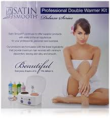 SATIN SMOOTH Professional Double Wax Warmer Kit SSW11CKIT