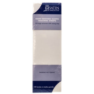 SSWA07 - Satin Smooth Large Non-Woven Cloth Waxing Strips
