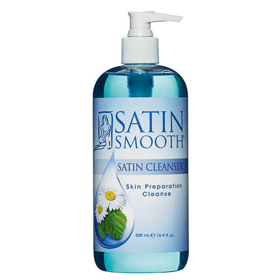 Satin Smooth Satin Cleanser - Skin Preparation Cleanser 16 oz SSWLC16G