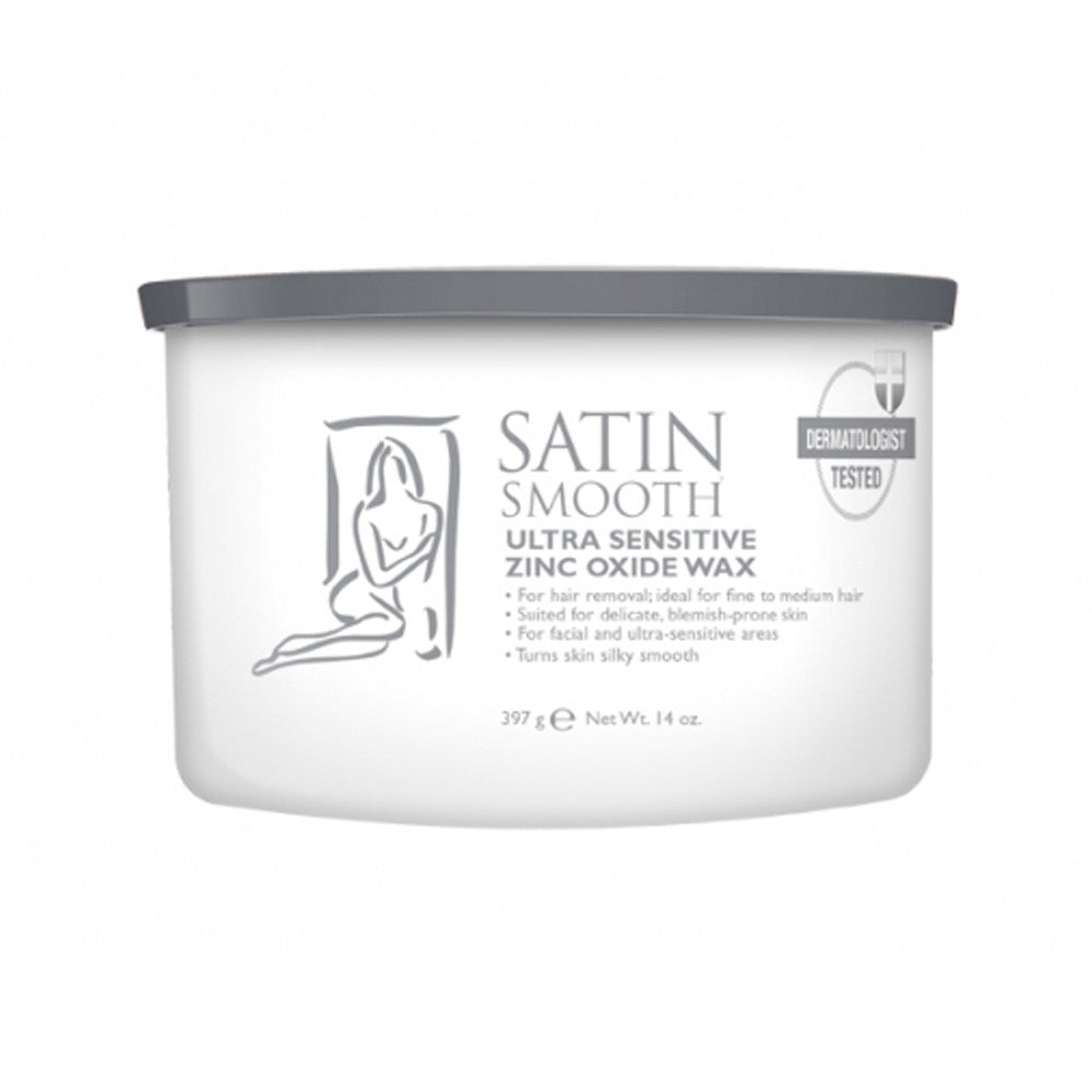 SATIN SMOOTH Zinc Oxide Wax SSW14ZOG