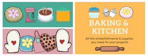 Baking, Kitchen, & Cooking Scrapbooking Products