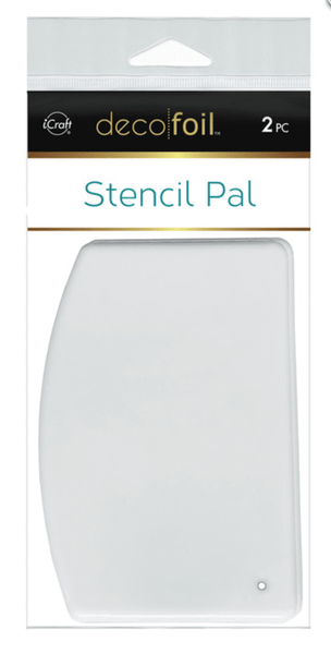 Deco Foil Stencil Pal 3.75 in x 5.2 in (2 pieces per pack) | Craftastic Cabin Inc
