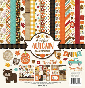 "Echo Park A Perfect Autumn Collection Kit 12""x 12"""