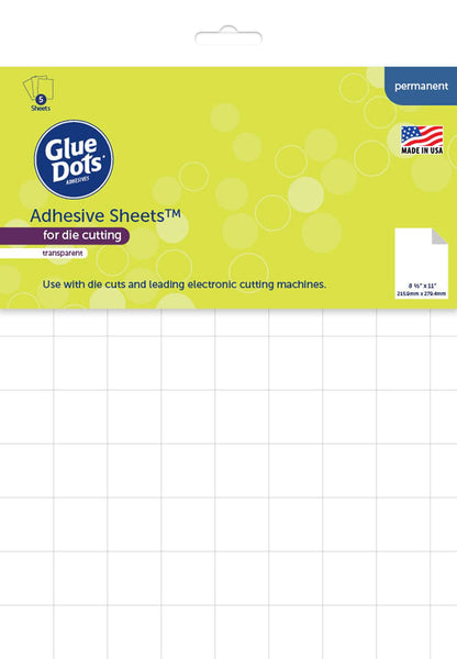 Glue Dots Adhesive Sheets 8.5