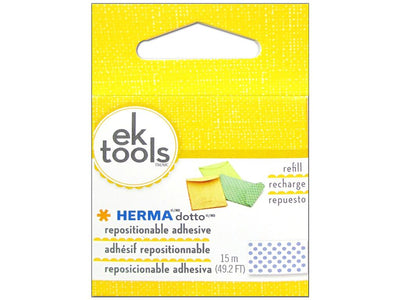 EK Herma Dotto Refills REPOSITIONABLE scrapbooking and cardmaking adhesive