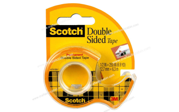 Scotch Tape Double Sided 1⁄2x250