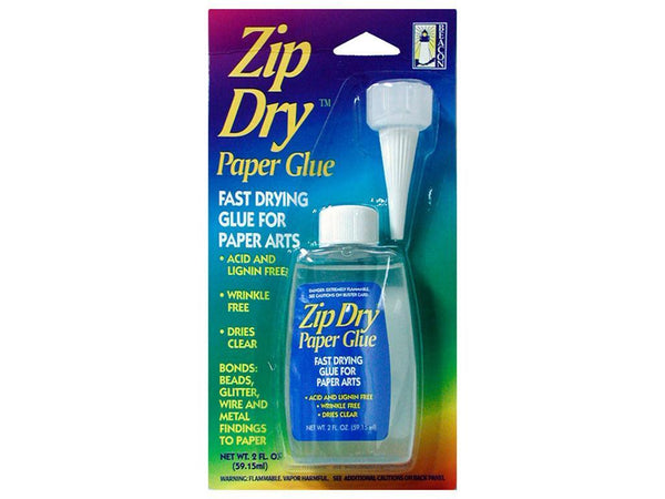 Beacon Glue & Adhesive Zip Dry™ Paper Glue 2oz | Craftastic Cabin Inc