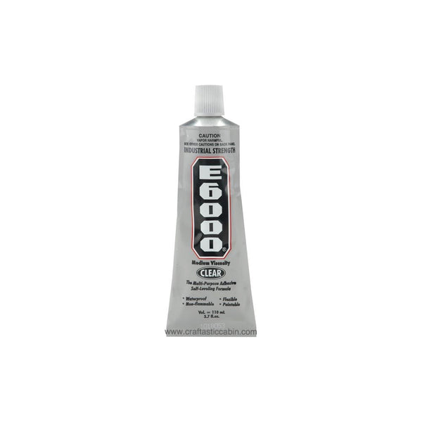 E6000 Multipurpose Adhesive 3.7oz Clear | Craftastic Cabin Inc