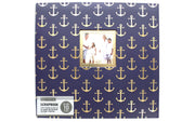 "K&Company Scrapbook Album 12x12"" Window Nautical"