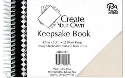 Paper Accents Create Your Own Keepsake Book 6.5