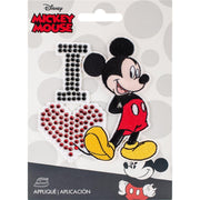 I Love Mickey - Wrights Disney Mickey Mouse Iron-On Applique