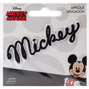 Mickey Mouse Iron-On Applique - Signature