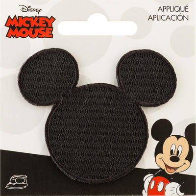 Mickey Mouse Iron-On Applique - Head