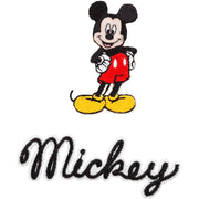Wrights Disney Mickey Mouse Body with Script Iron-On Applique - Signature