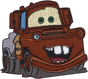 Mater - Wrights Disney Cars Iron-On Applique