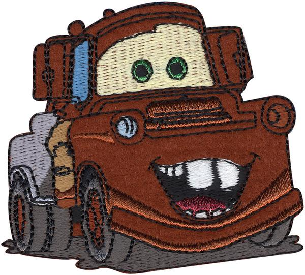 Mater - Wrights Disney Cars Iron-On Applique | Craftastic Cabin Inc