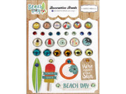 Carta Bella Collection Beach Day Decorative Brad